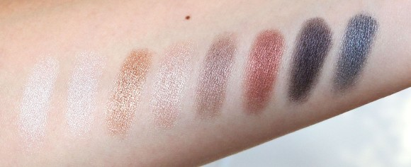 Lorac Pro shimmer row anmeldelse