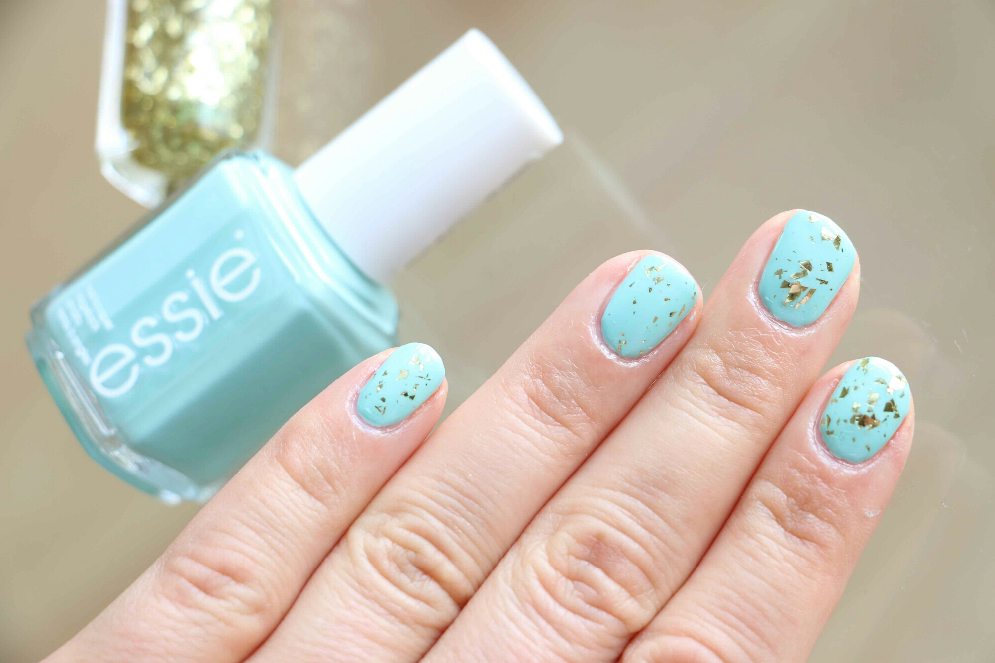 essie mint candy apple l'oréal goldleaf