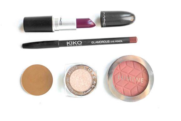 MAC Uninterrupted Rebel Kiko Glamorous Lumene Lovely Hourglass Beige