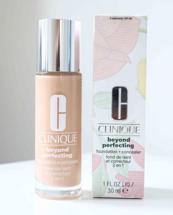 Anmeldelse Clinique Beyond Perfecting foundation and concealer
