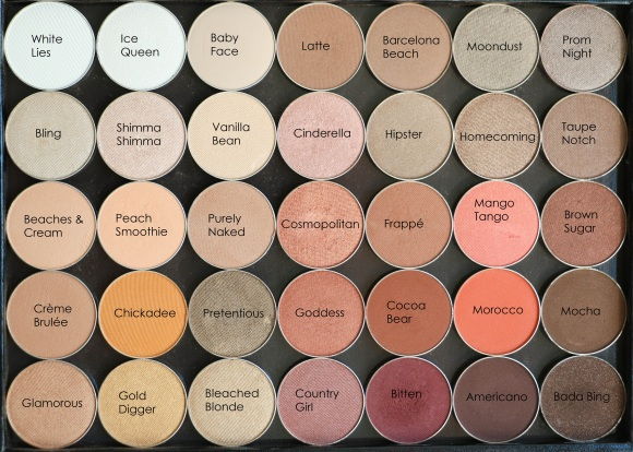 Makeup Geek neutrals
